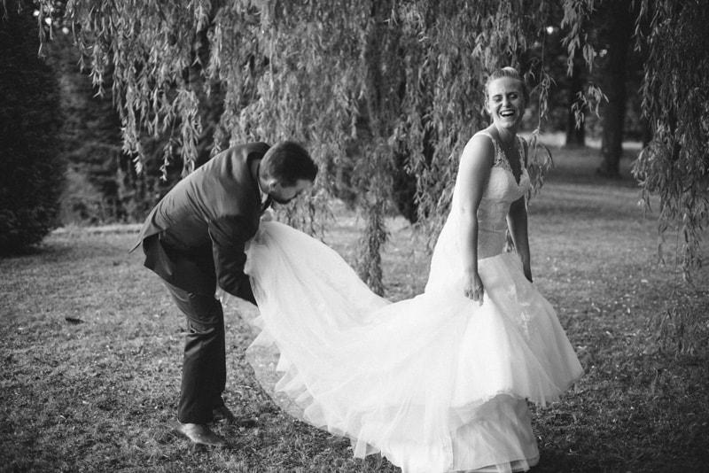 photo de mariage chic au chateau photo de couple