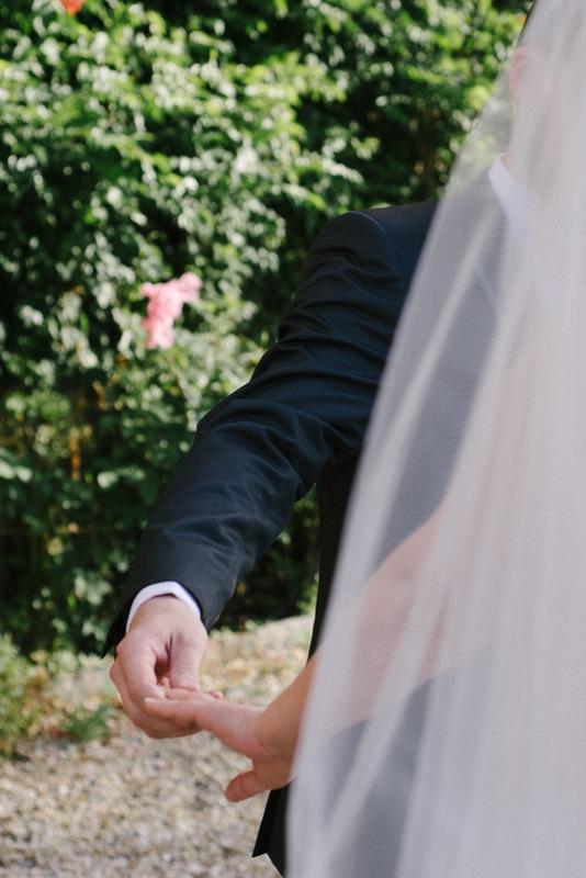 photo de mariage chic au chateau préparatifs