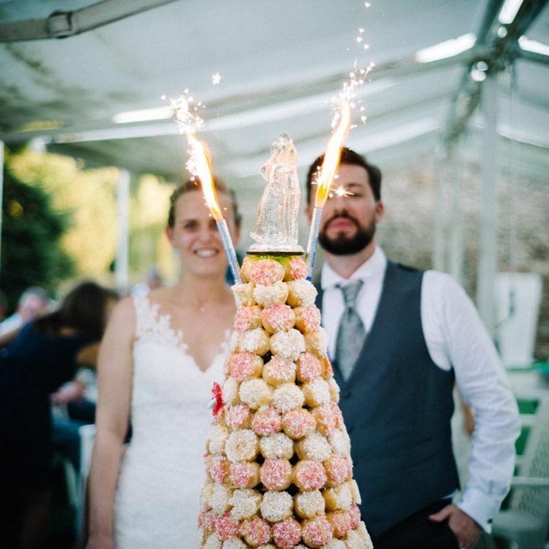 photo de mariage chic au chateau