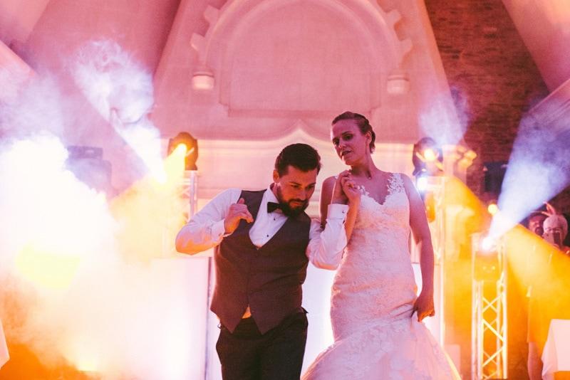 photo de mariage chic au chateau soirée dansante