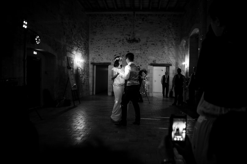 first dance black and white photographer