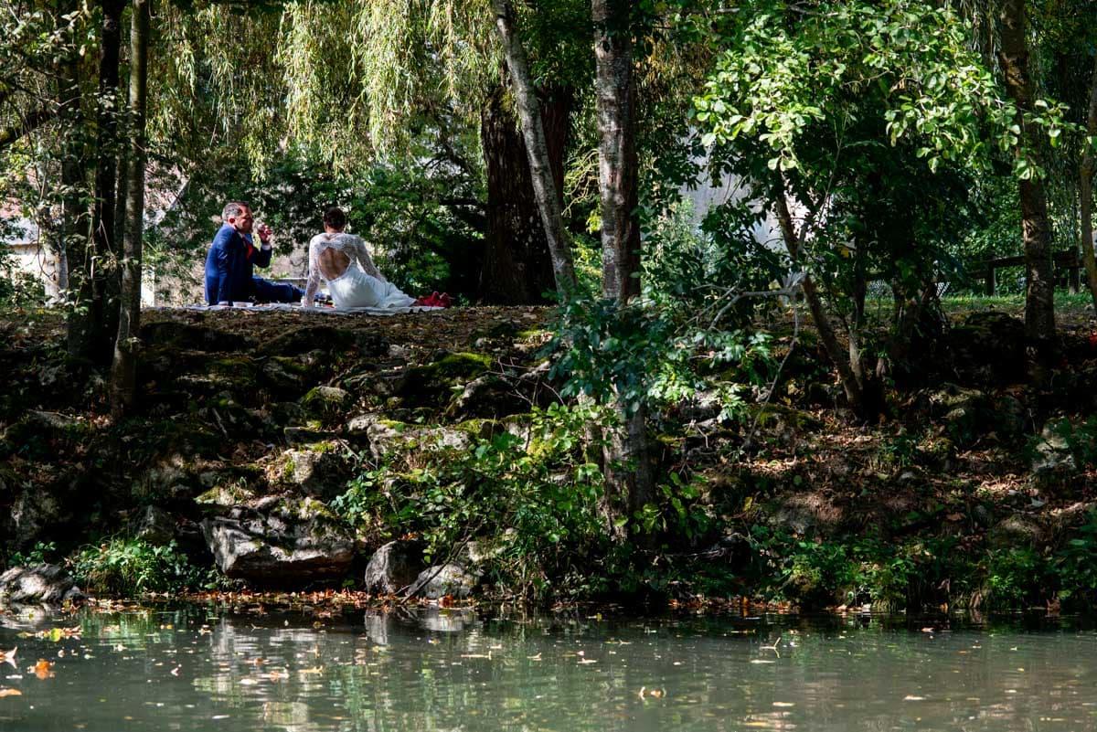 Décors champètre chic pour ce mariage en Touraine.