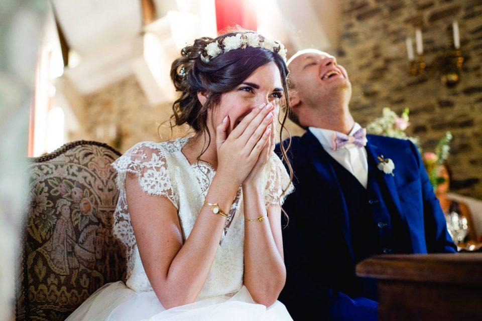 Mariage boheme au chateau
